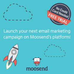 Moosend email marketing