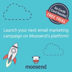 Moosend email marketing