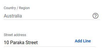 Adding additional address info to Google My Business page