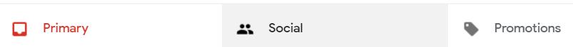 Gmail Promotions folder